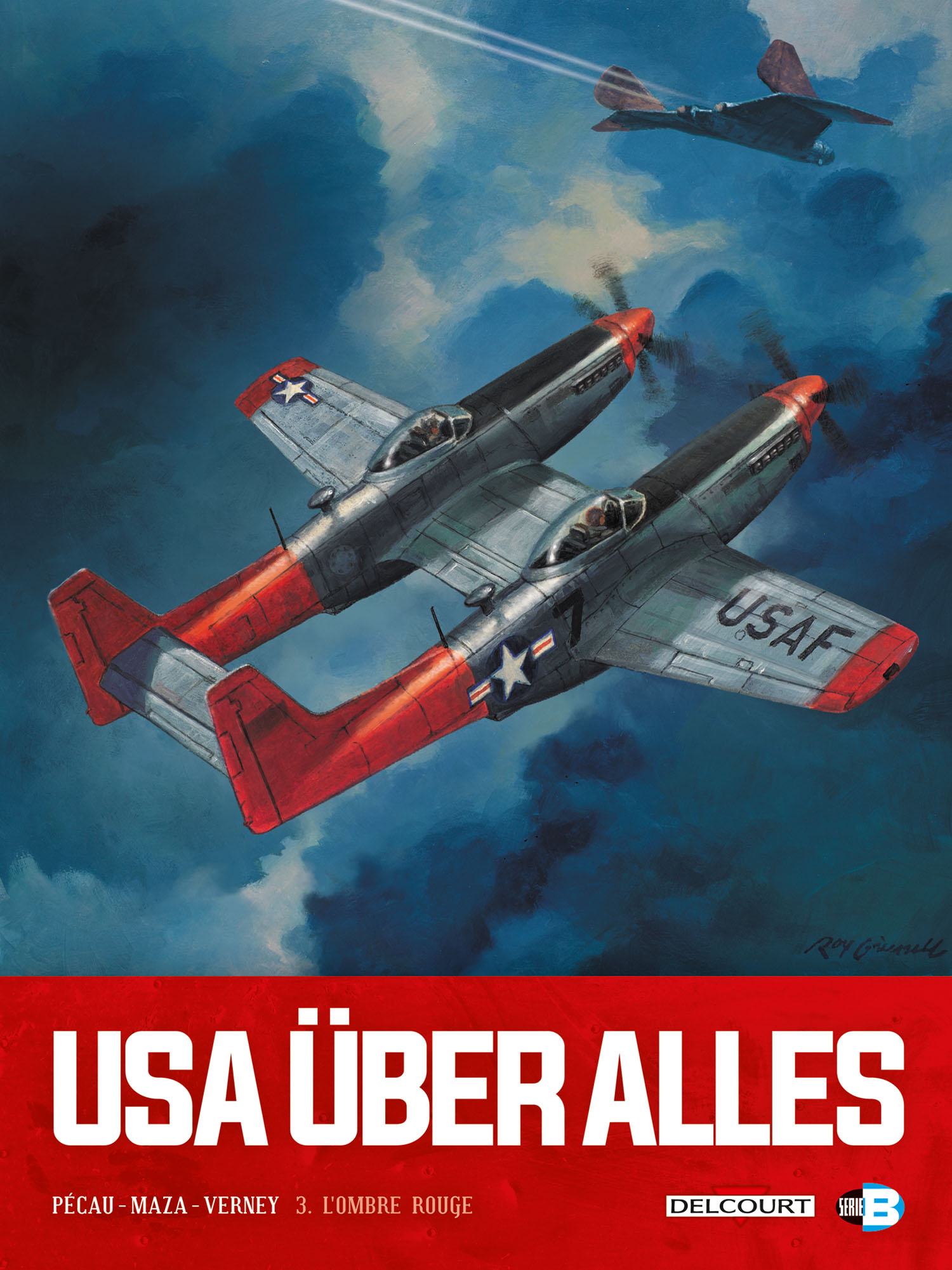 USA über alles Tome 3 : l'ombre rouge