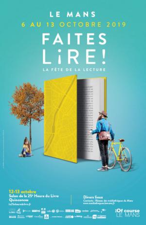 La 25e heure du livre - Clément Bouhélier lauréat du prix de l'imaginaire 2019