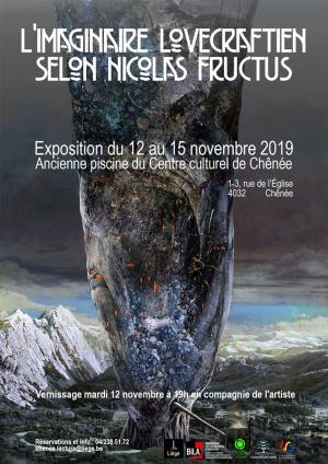 Lovecraft : Une lecture par François Bon et une exposition de Nicolas Fructus