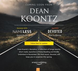 Dean Koontz chez Amazon