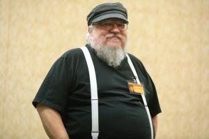 George R.R. Martin reçoit le Sir Arthur Clarke Imagination Award