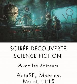 Soirée découverte science fiction et imaginaire à La Virevolte
