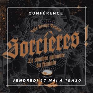Conférence sur les sorcières par Julie Proust-Tanguy