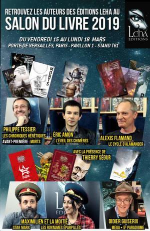 Les éditions Léha à Livre Paris