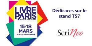 Scrineo à Livre Paris 2019