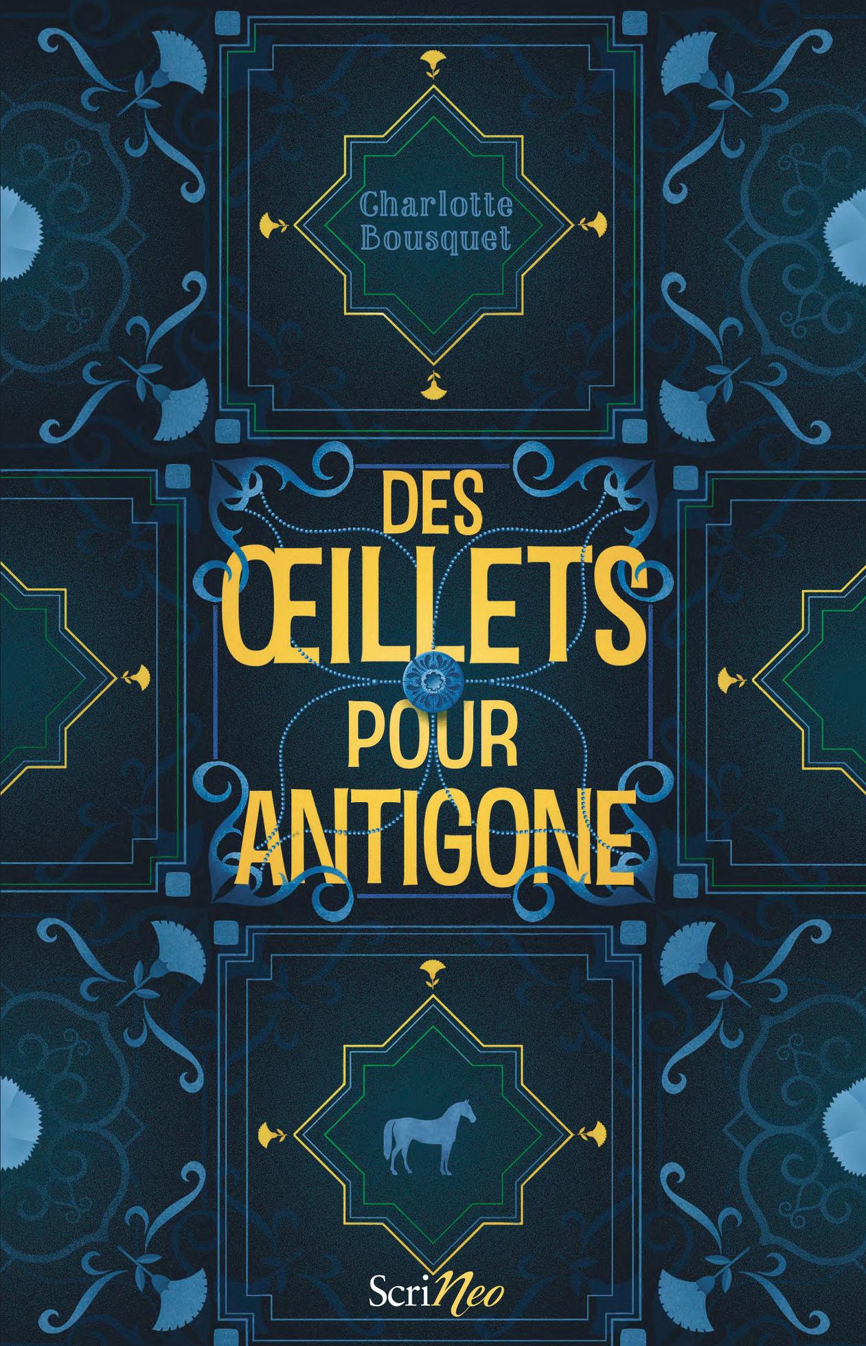 Des Œillets pour Antigone - Les secrets d'écriture de Charlotte Bousquet