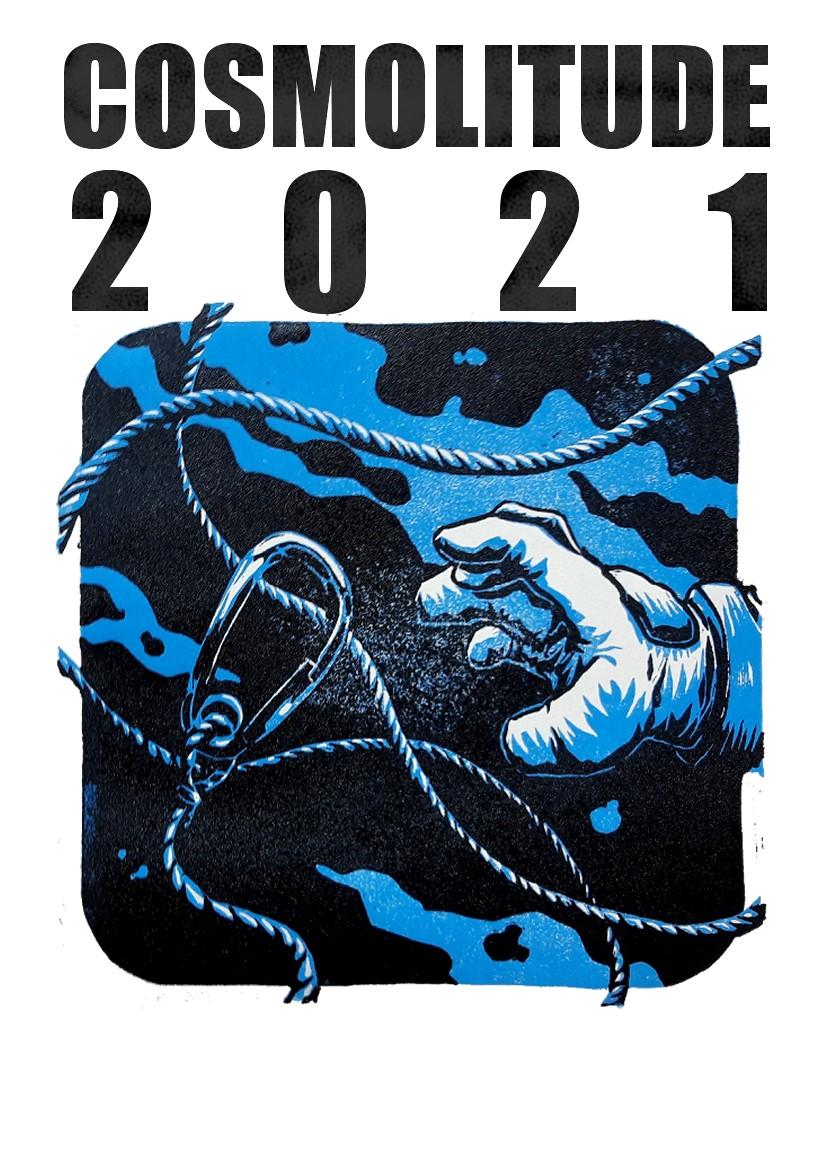 Cosmolitude 2021 - Un space opéra sérigraphié au festival BD A BASTIA