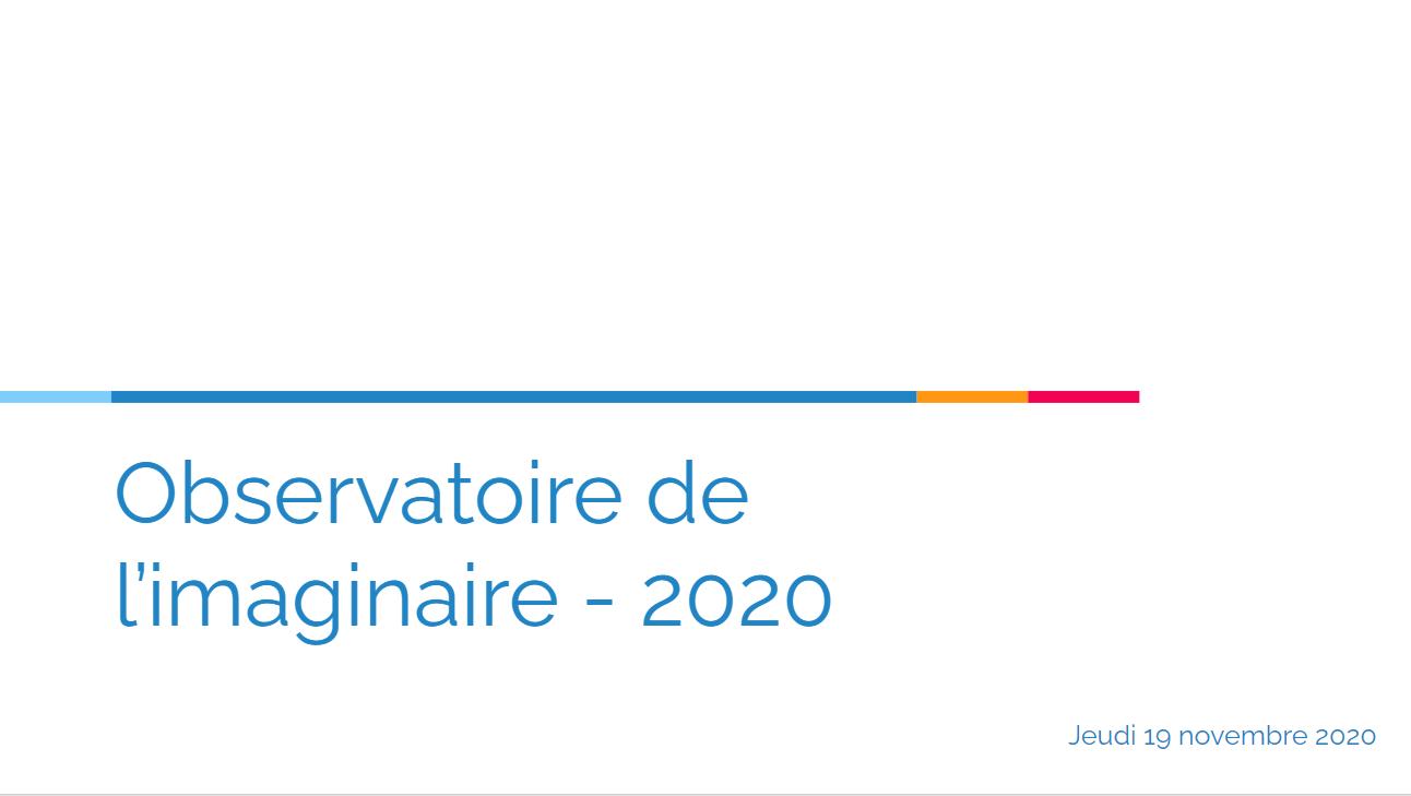L'observatoire de l'imaginaire : La session 2020, les chiffres 2019 !