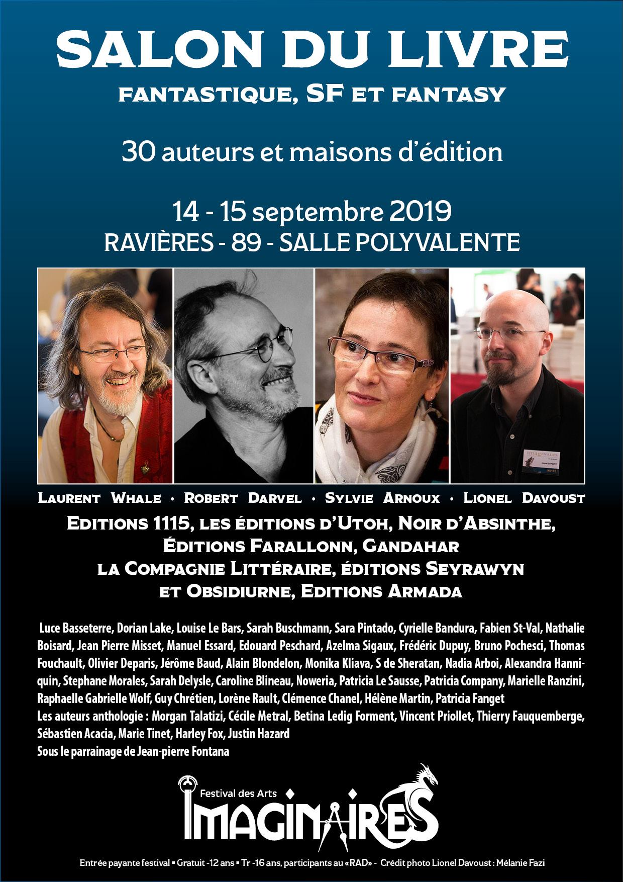 Salon Du Livre Festival Des Arts Imagineres En Tonnerrois