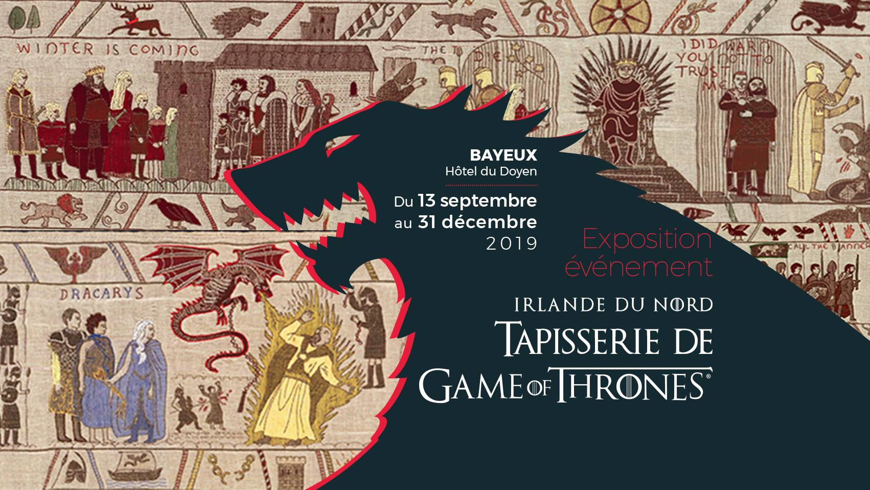 Photo de Nocturne & showcase - Exposition Tapisserie Game of Thrones®