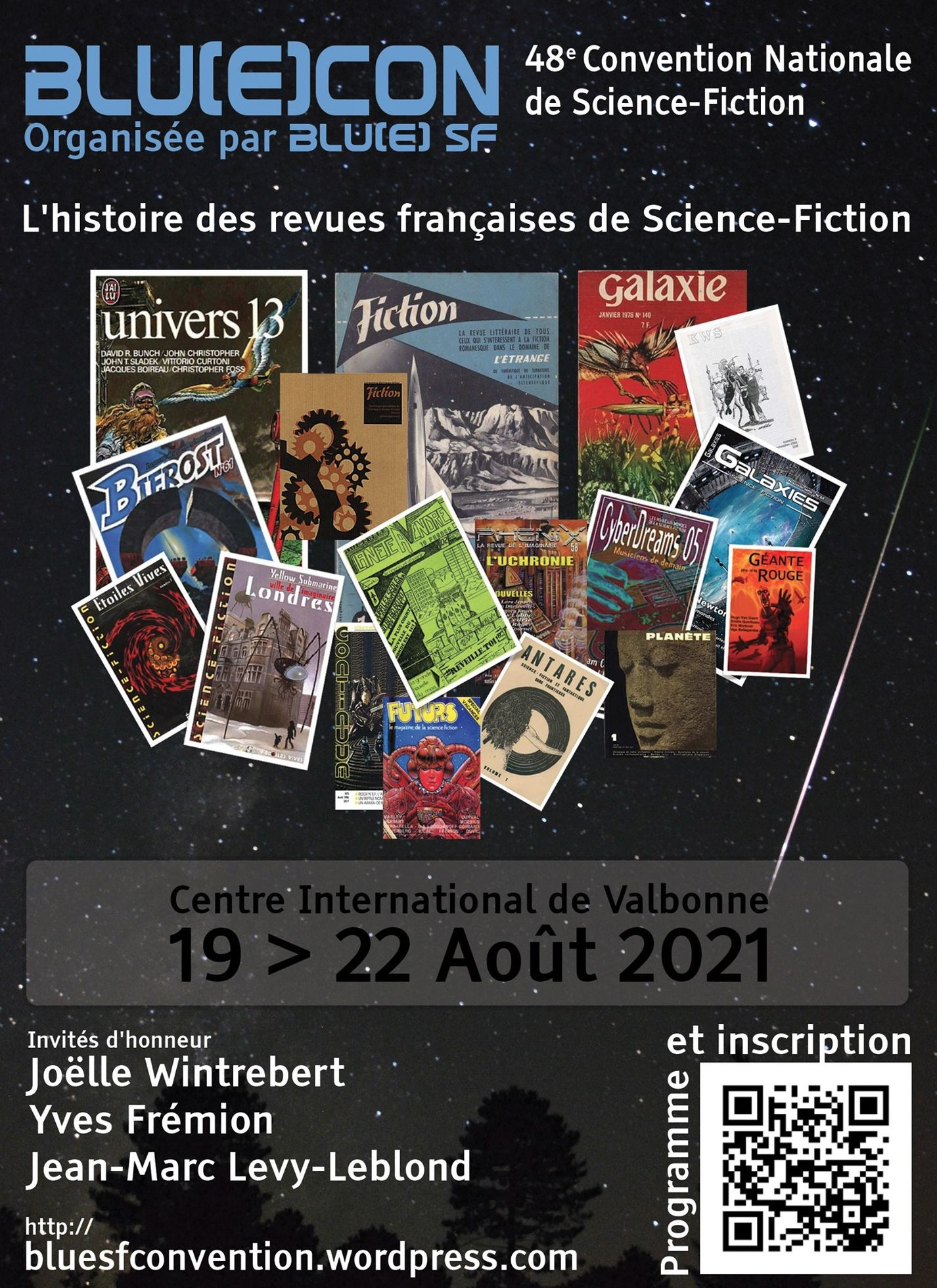 BlueCon 48e Convention Nationale de Science-Fiction