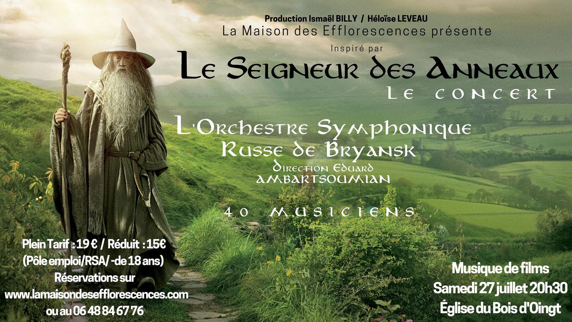 détaillant luxe gamme complète de spécifications Le Seigneur des Anneaux - Le concert ! - ActuSF - Site sur l ...