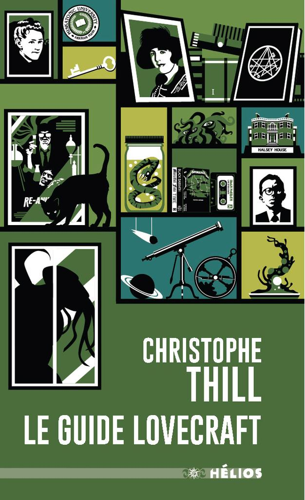 Interview 2018 : Christophe Thill pour Le guide Lovecraft