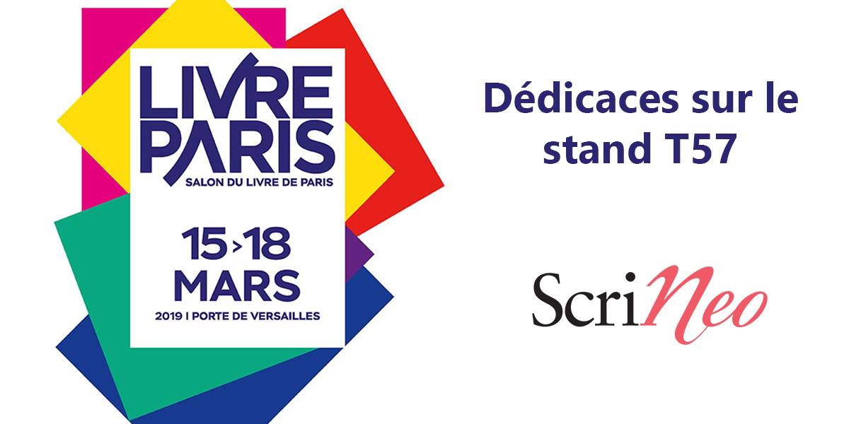 Photo de Scrineo à Livre Paris 2019