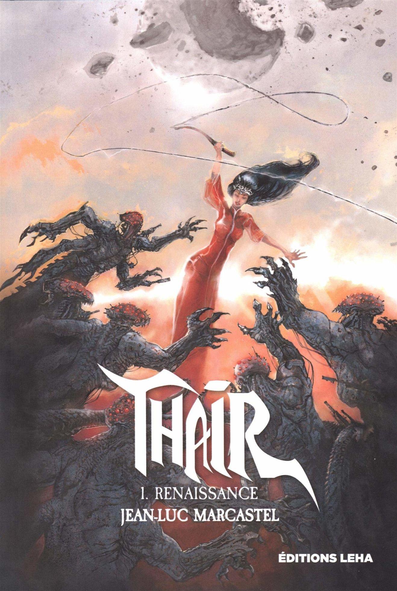 Thaïr, le nouveau roman de Jean-Luc Marcastel