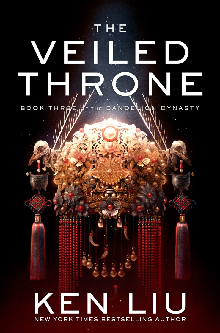 The Veiled Throne de Ken Liu a enfin sa couverture