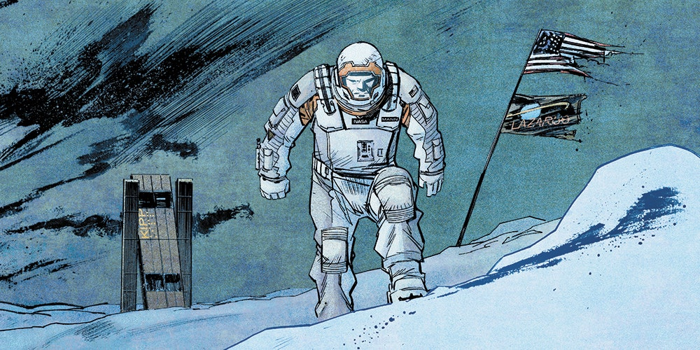 Absolute Zero, un mini-comics d'Interstellar