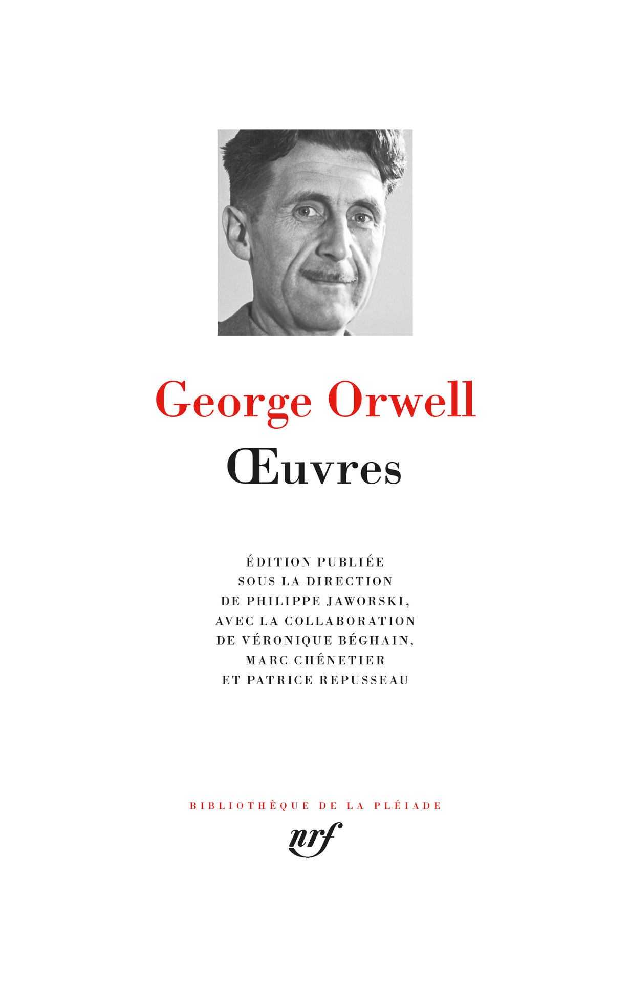 George Orwell par Véronique Béghain