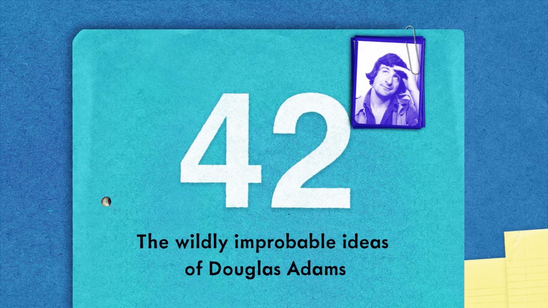 Un livre sur Douglas Adams, ses notes et ses lettres
