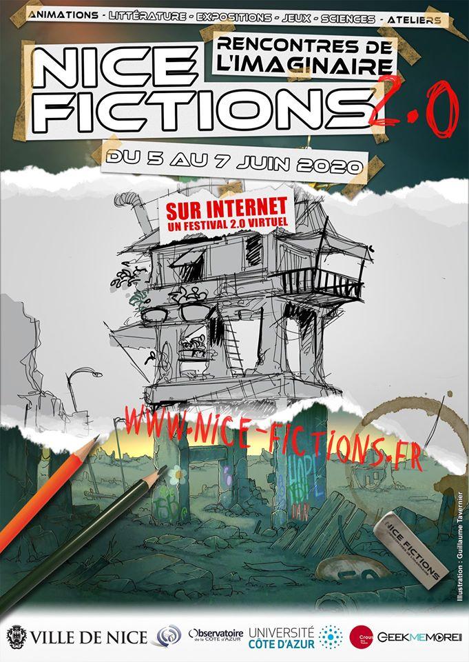 Le festival Nice Fictions sur le web