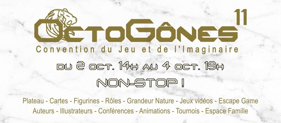 Photo de OctoGônes 11 - Convention du Jeu et de l'Imaginaire