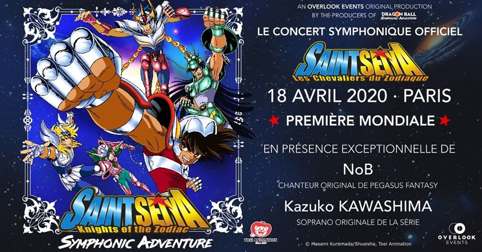 Photo de Saint Seiya Symphonic Adventure : Première mondiale à Paris
