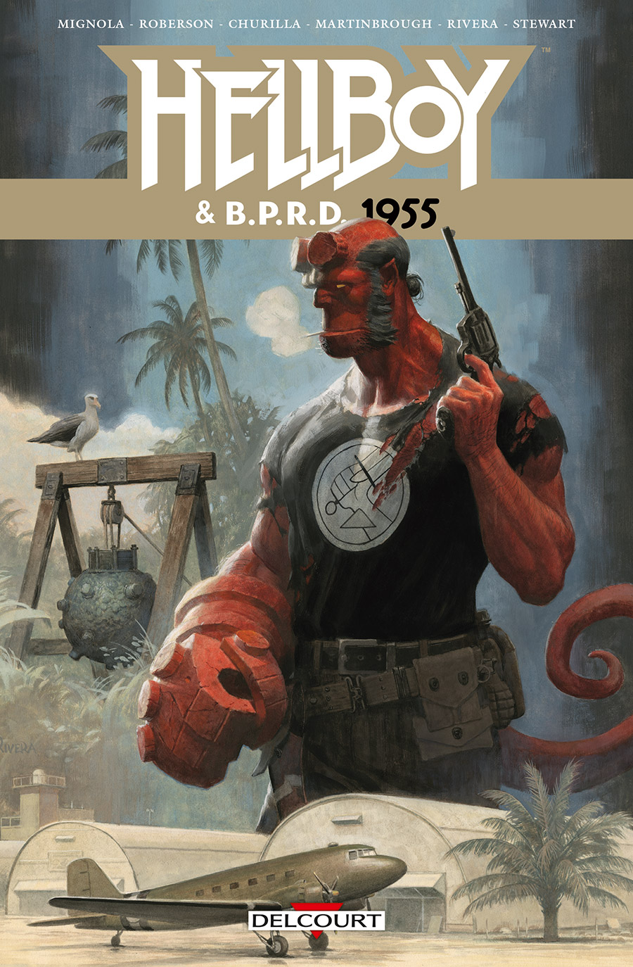 Photo de Mike Mignola - Hellboy et B.P.R.D 1955 t1
