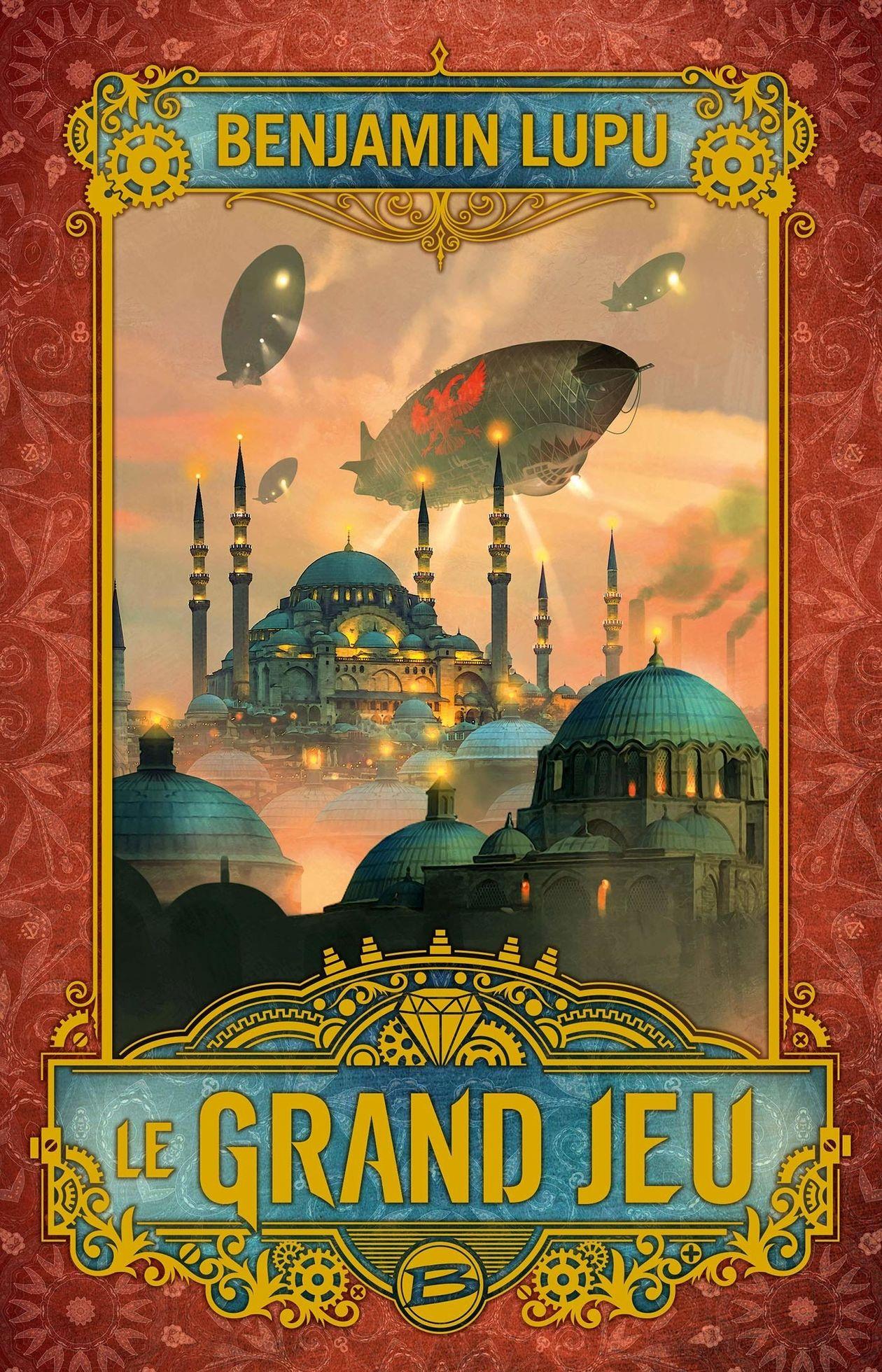 Rencontre steampunk avec Benjamin Lupu pour découvrir son roman Le Grand Jeu !