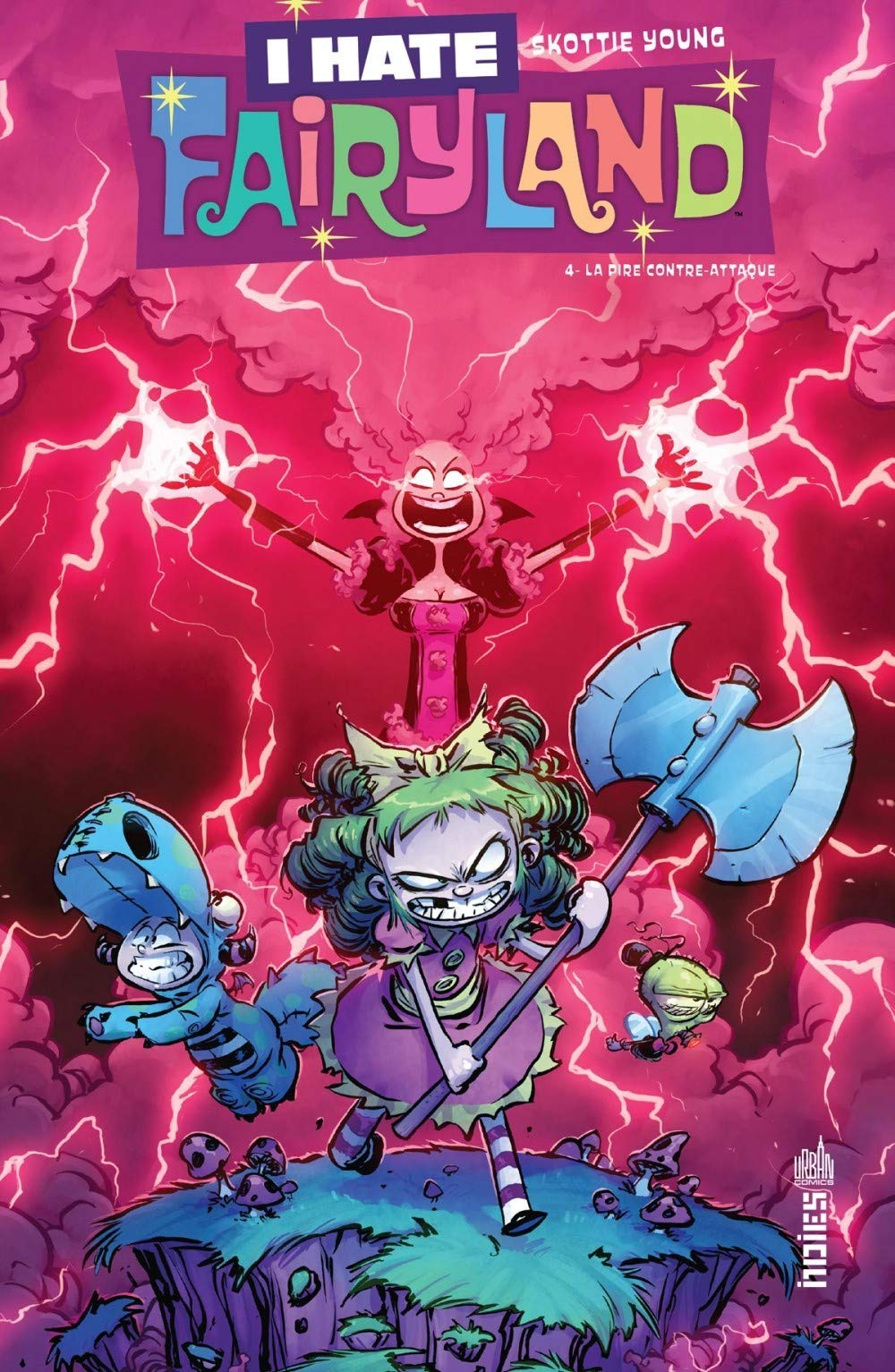 Photo de Skottie Young - I Hate Fairyland Tome 4 - La pire contre-attaque