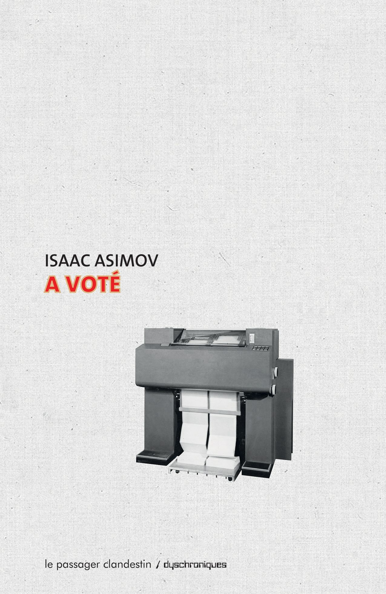 Photo de Isaac Asimov - A voté