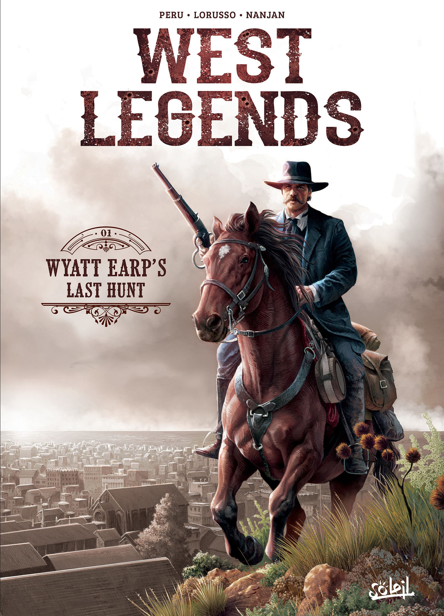 Photo de Olivier Peru - West Legends 1 : Wyatt Earp's Last Hunt